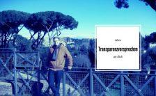 transparenzversprechen